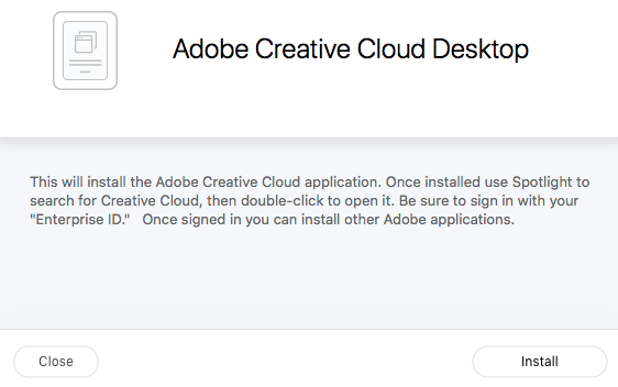 Install and Access Adobe Creative Cloud Software with Your Blake